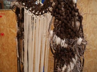 Bianca Barbaro macrame and fibre artist Adelaide Australia