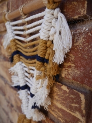 wall hanging modern macrame and fibre artist Adelaide Australia
