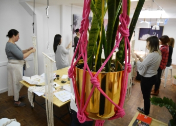macrame workshop Adelaide Australia Brick and Mortar Norwood Bianca Barbaro