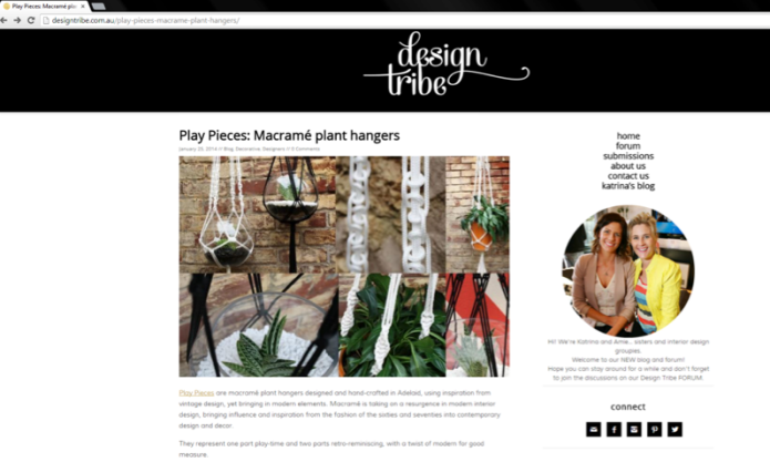 Design Tribe blog