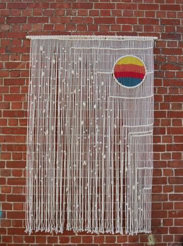 Macrame wall hanging Bianca Barbaro http://biancabarbaro.com